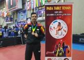 Bronce para José Manuel Ruiz en el Open de Egipto de tenis de mesa adaptado