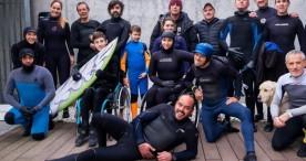 El surf adaptado fija su objetivo en unos posibles Juegos Paralímpicos en 2028
