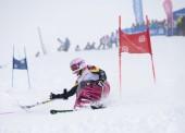 Audrey Pascual se proclama campeona de la Copa de Europa de esquí alpino