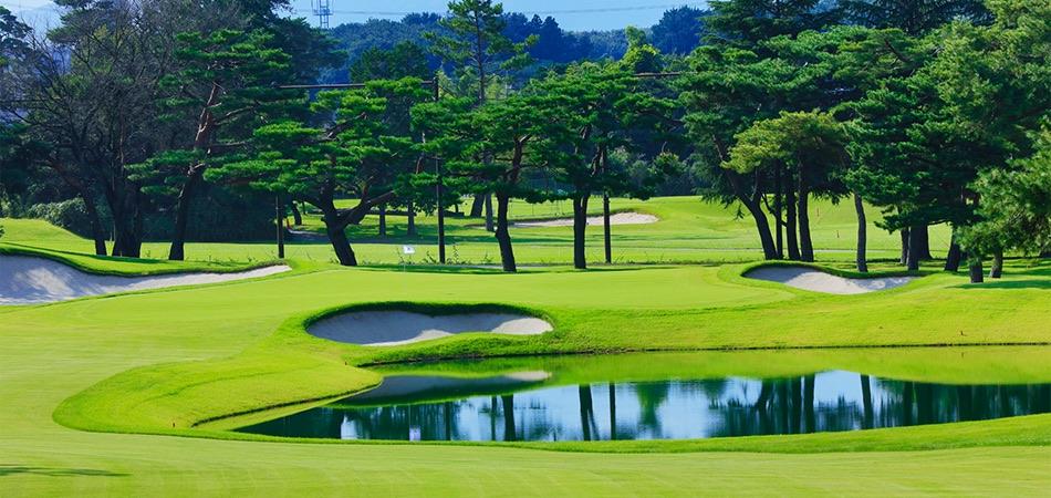 Hoyo 18 del Kasumigaseki Country Club, sede olímpica del golf. Fuente: Rfeg