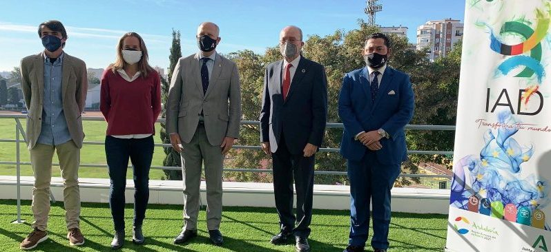 Presentación Formación Continua 2021 en el IAD. Fuente: Junta de Andalucía