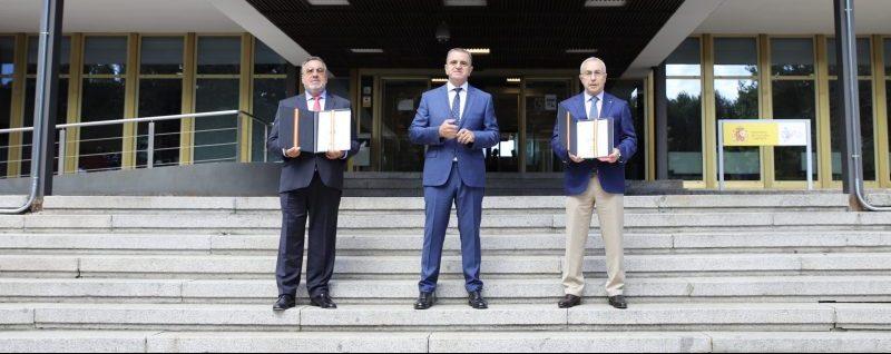 Carballeda, Franco y Blanco. Fuente: CSD
