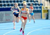 Adiaratou Iglesias, campeona de Europa en los 400 metros T13