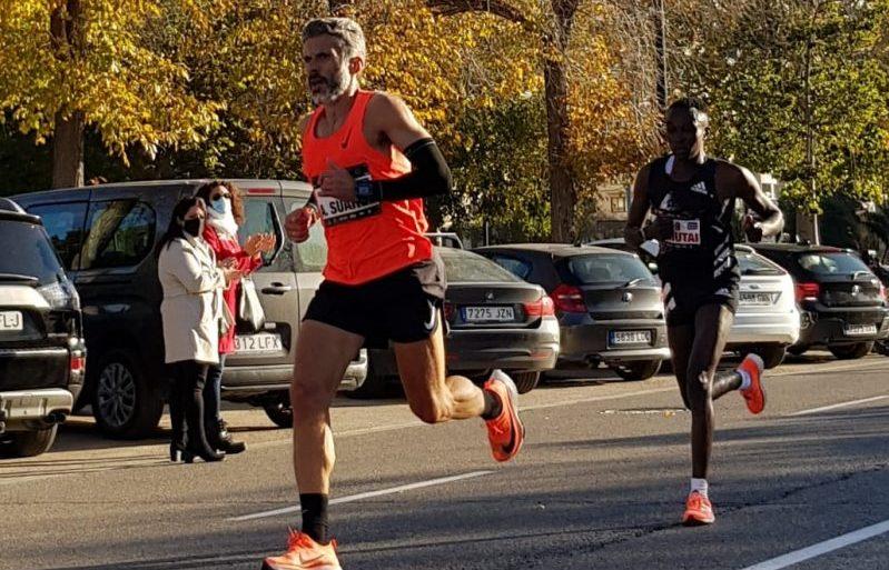 Alberto Suárez en el Maratón de Valencia. Fuente: CPE