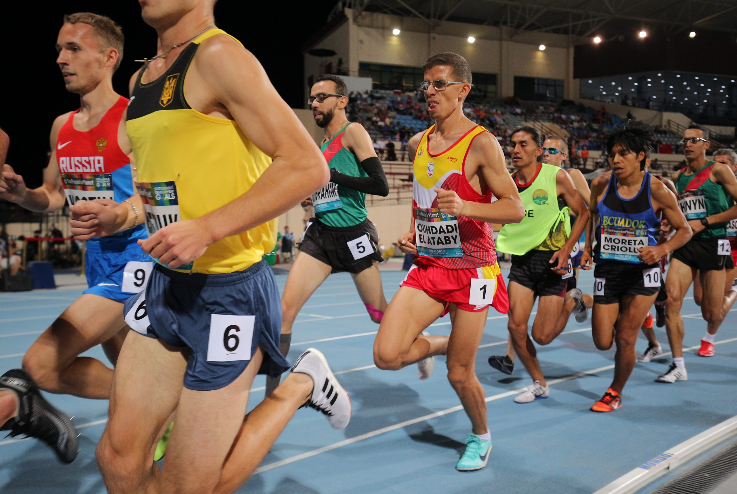 Yassine Ouhdadi. Fuente: Comité Paralímpico Español