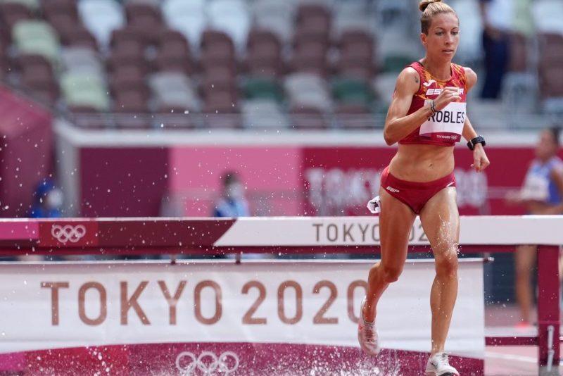 Carolina Robles en Tokio. Fuente: COE
