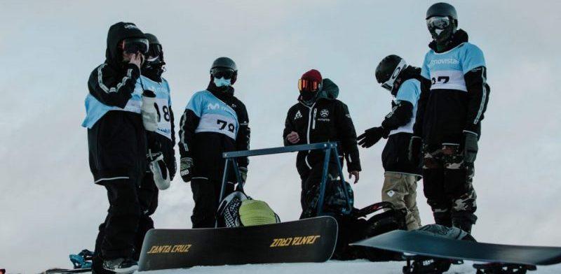 Copa de España Movistar de snowboardcross y skicross. Fuente: SN