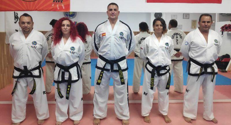 David Sanz, Ana Millo, Artur Ababii, Paula Sanz y José Luis Monci. Fuente: Invictus