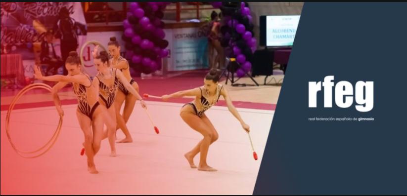Nacional de gimnasia rítmica 2020 en Valencia. Fuente: Rfeg