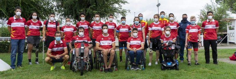 Promesas Ciclistas Paralímpicas. Fuente: CPE
