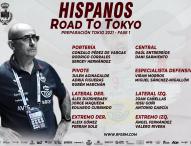 20 'Hispanos' inician en Pontevedra la preparación para Tokio