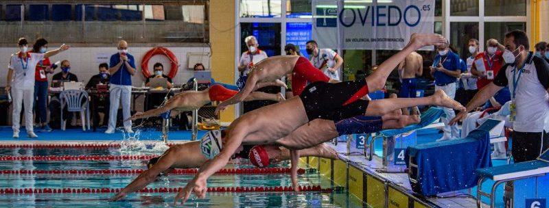 Campeonato de Natación de Oviedo. Fuente: CPE