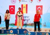 Dalia Santiago, campeona de Europa de taekwondo paralímpico