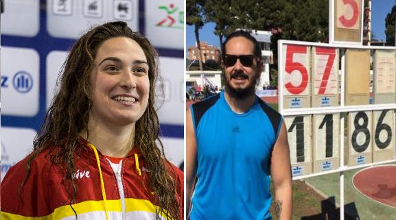 Ariadna Edo y Álvaro del Amo. Fuente: Comité Paralímpico Español