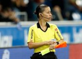 Guadalupe Porras, primera árbitra española de fútbol en participar en una competición europea masculina