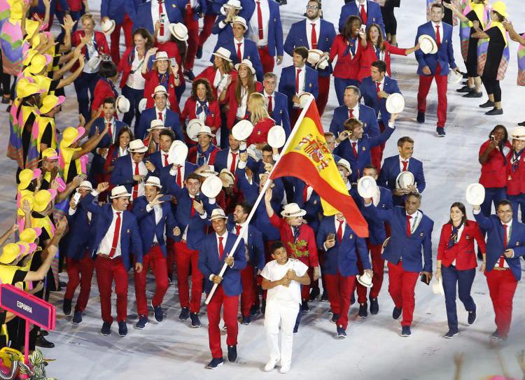 Equipo Olímpico Español. Fuente: COE
