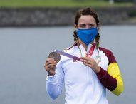 Bronce para la triatleta Eva Moral en Tokio