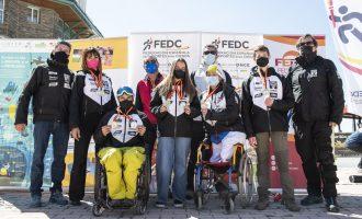 El Equipo Competición Fundación También consigue un póker de oros