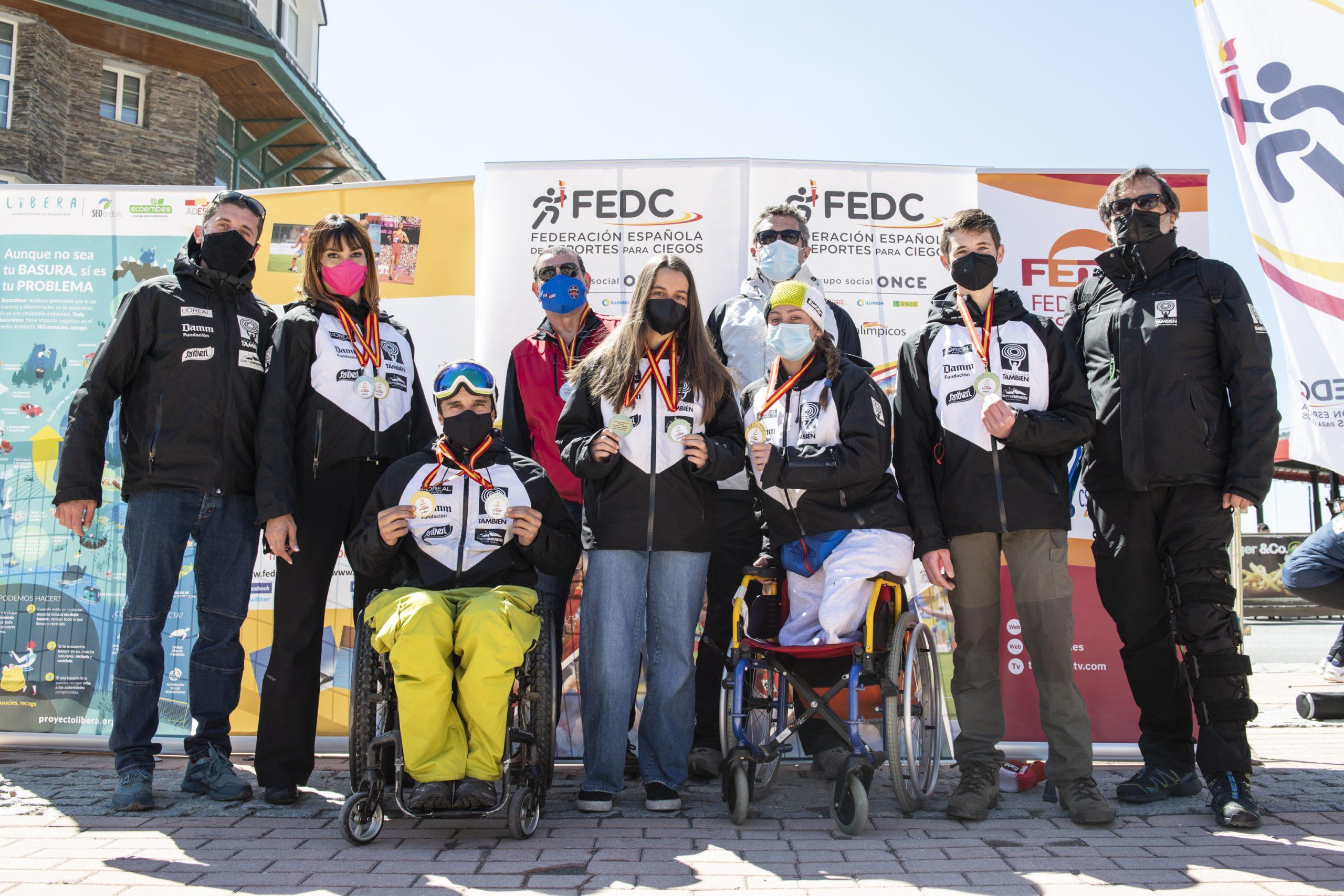 Fundación También. Fuente: Equipo Competición Fundación También de Esquí & Snowboard