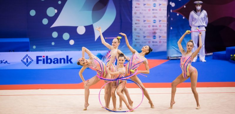 Campeonato de Europa de gimnasia rítmica celebrado en Varna. Fuente: Rfeg