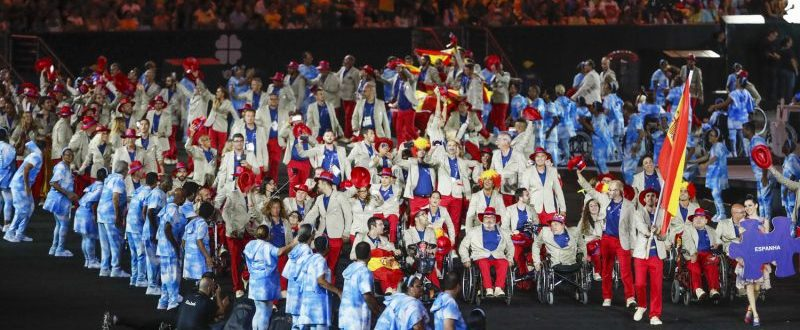 Equipo Paralímpico Español en los Juegos Río 2016. Fuente: CPE