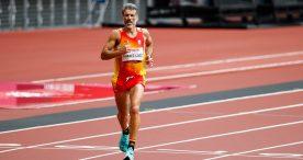 Alberto Suárez, 5º en el maratón de Tokio