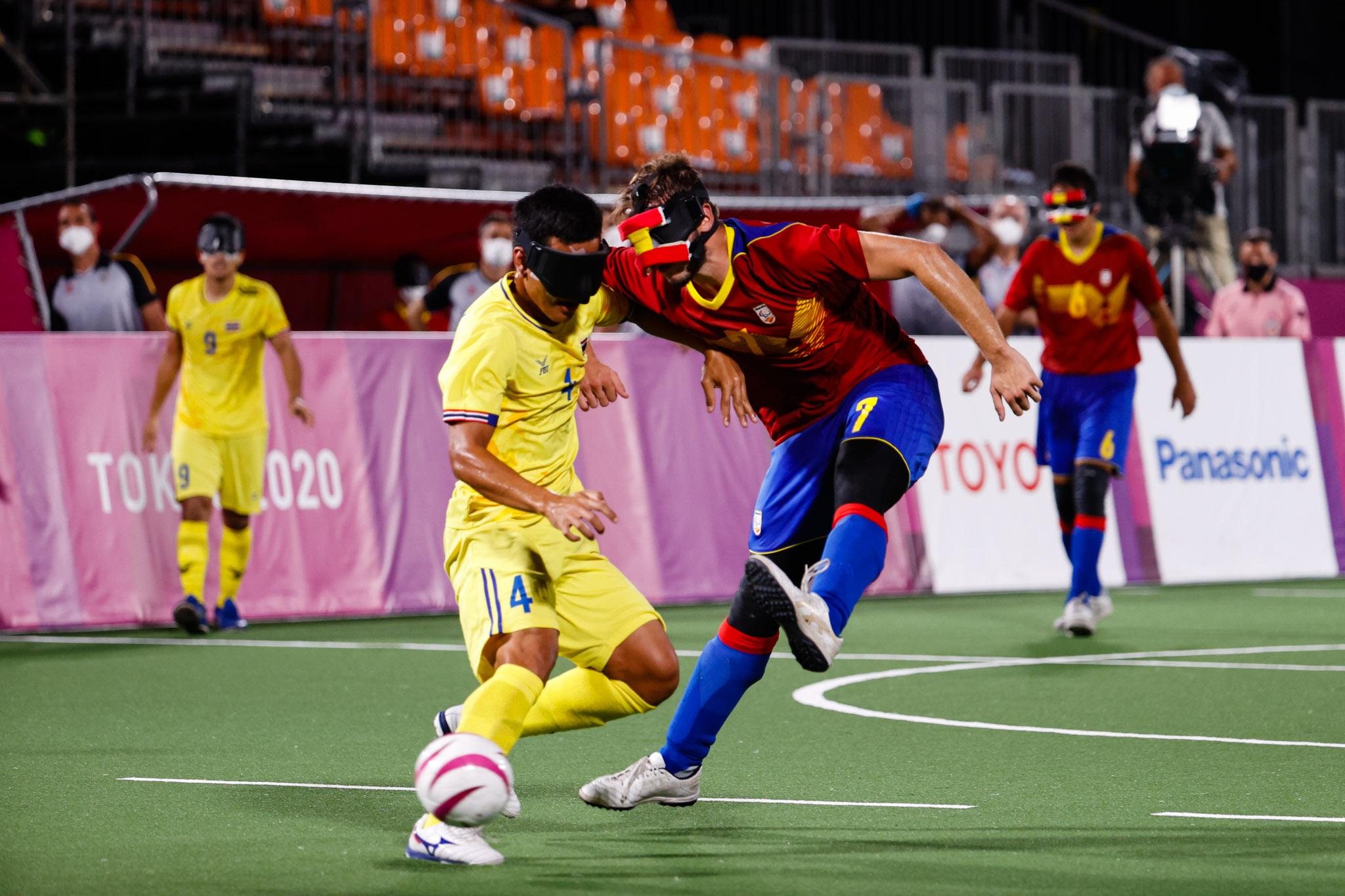 Selección Española Masculina de Fútbol 5. Fuente: CPE