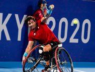 Caverzaschi cae en cuartos del torneo individual de tenis en silla