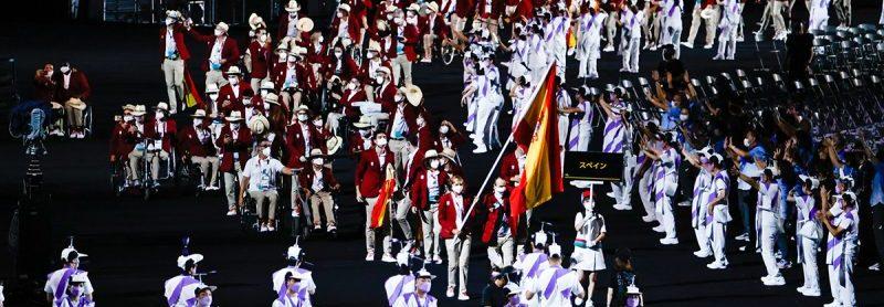 Desfile ceremonia inauguración. Fuente: Jaime de Diego/CPE