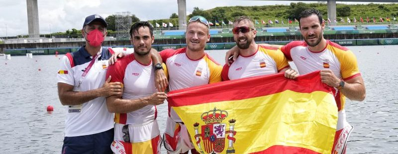 El K4 español. Fuente: COE