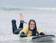 María Martín protagonizará un documental de parasurfing