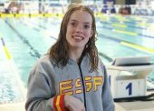 Marta Fernández, nueva nadadora en Tokio