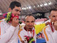 Bronce para España en la velocidad por equipos