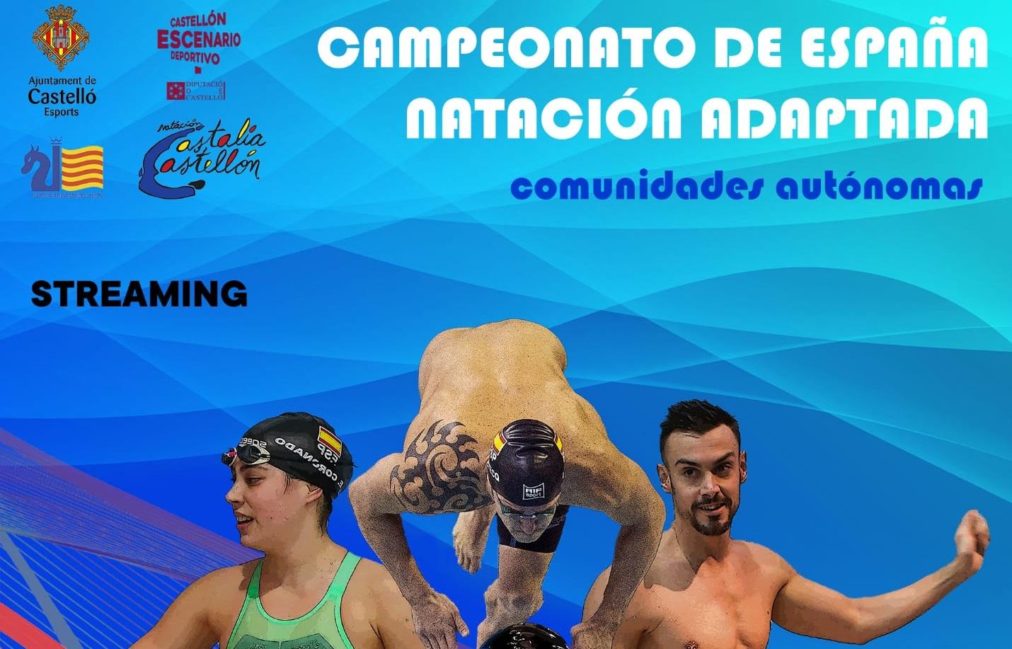 Natación adaptada. Fuente: Comité Paralímpico Español