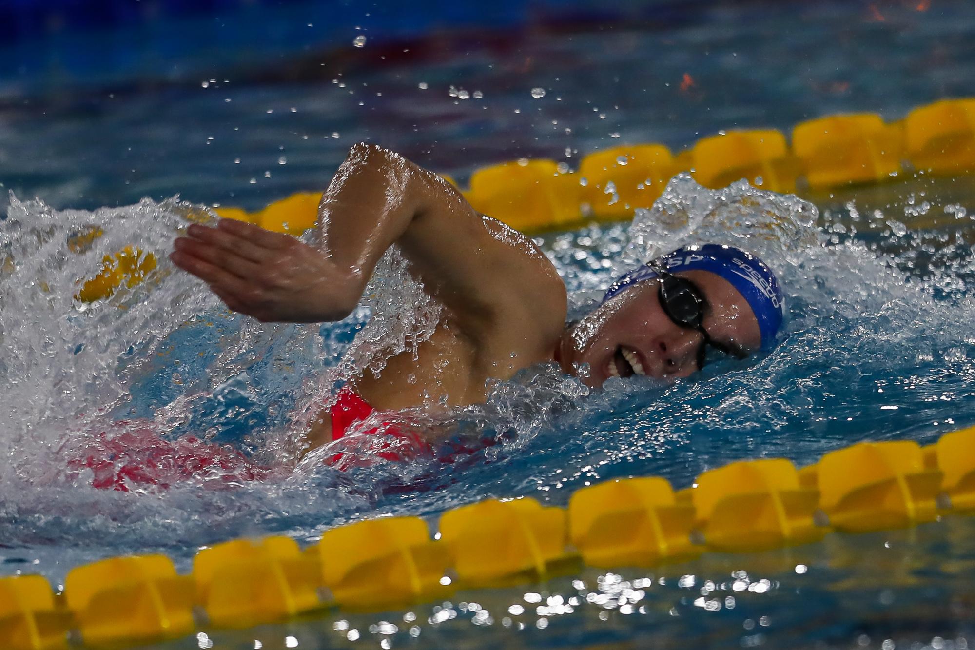 Campeonato andaluz de natación infantil. Fuente: RFEN