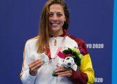 Nuria Marqués revalida la plata paralímpica en 100 metros espalda