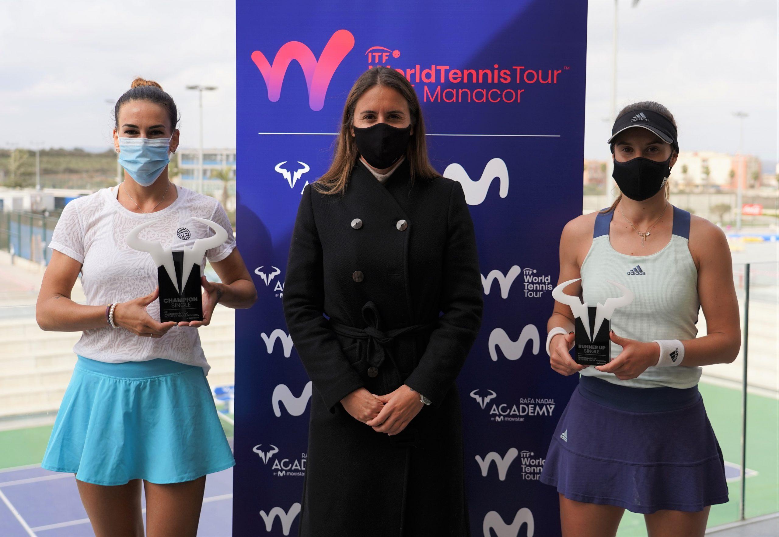 Nuria Párrizas, Anabel Medina y Marina Bassols. Fuente: RNA