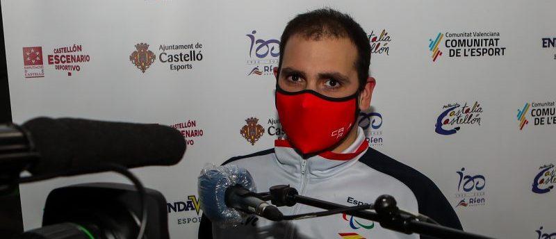 Toni Ponce en el Torneo Castalia. Fuente: CPE