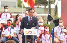 Homenaje del presidente del Gobierno a olímpicos y paralímpicos españoles