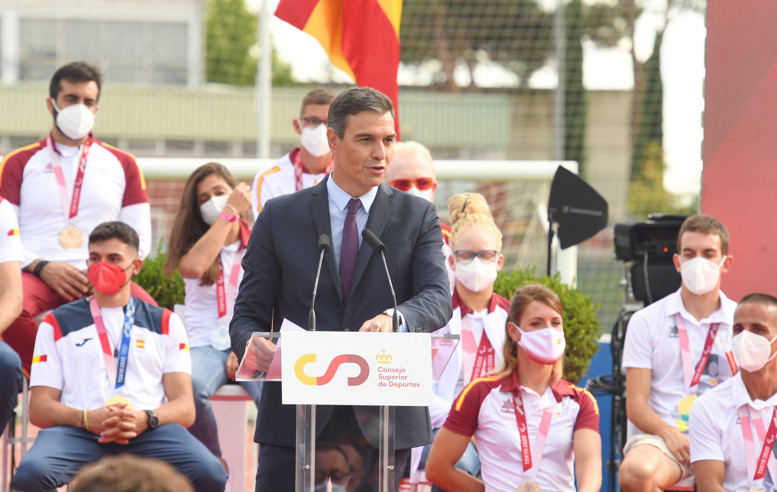 Pedro Sánchez. Fuente: CSD