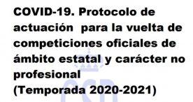 El CSD publica el protocolo de actuación para el deporte no profesional
