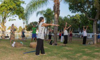 El qigong, un deporte oriental en la Costa del Sol