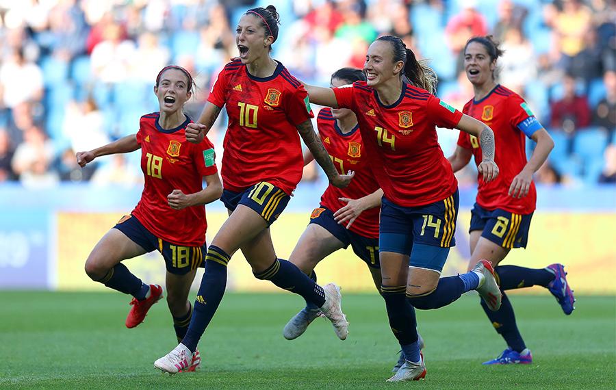 Selección española de fútbol. Fuente: Rfef