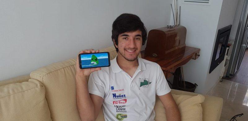Ramón Picón, regatista. Fuente: FAV