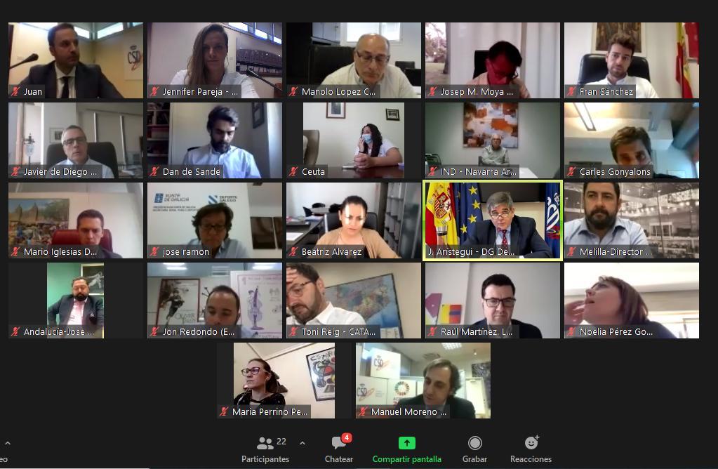 Reunión CSD con los responsables de las comunidades. Fuente: CSD
