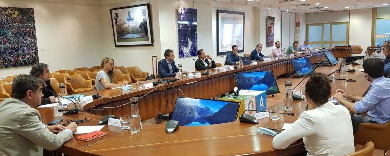 Reunión sobre eSports. Fuente: CSD