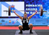 Irene Martínez bate el récord de España de halterofilia en 59 kg