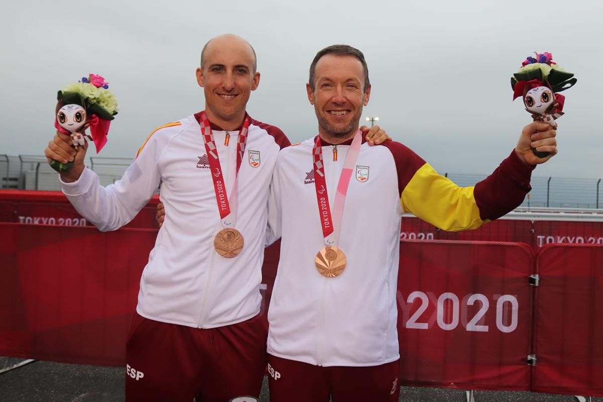 Christian Venge y Noel Martín. Fuente: CPE
