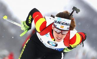 Victoria Padial cuelga los esquís