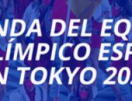 AGENDA DEL EQUIPO PARALÍMPICO ESPAÑOL   TOKYO 2020